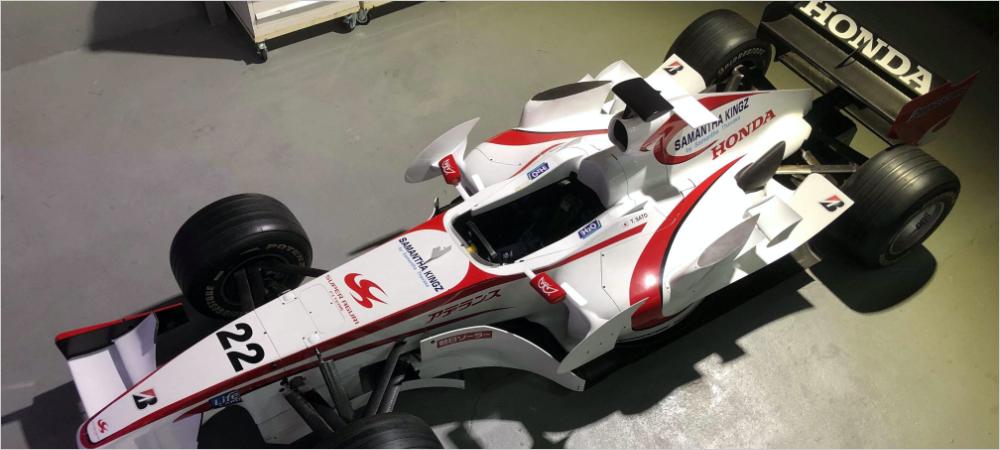 F1マシンレンタル